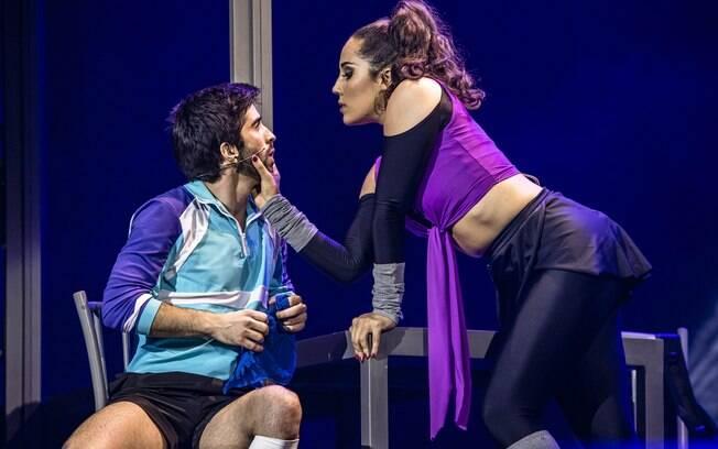 Mateus Ribeiro e Myra Ruiz estão no elenco do musical