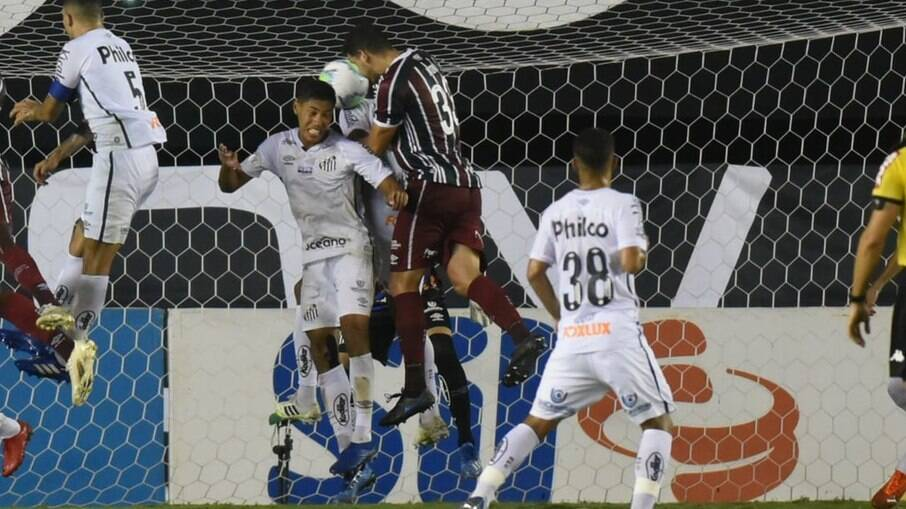 Santos e Fluminense empataram na Vila Belmiro