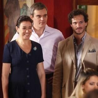 René, Guaracy e Griselda em