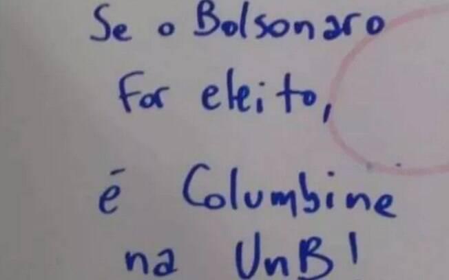 Possíveis autores de pichação nazista foram identificados no Rio; na UnB, ameaça é inscrita no banheiro