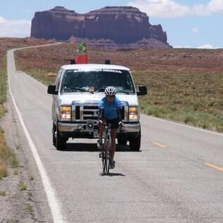 Em 2010, Sônia cruzou os Estados Unidos de bike: vitória após o câncer