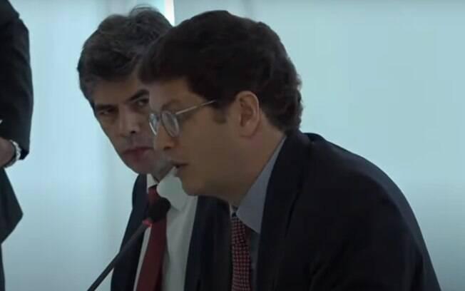 Ricardo Salles, ministro do Meio Ambiente, falou em