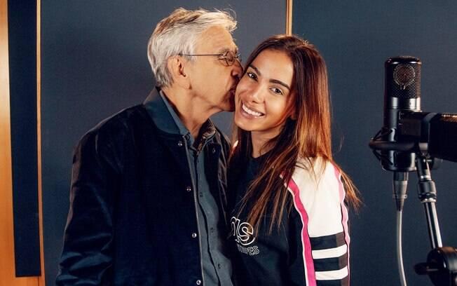 Anitta e Caetano