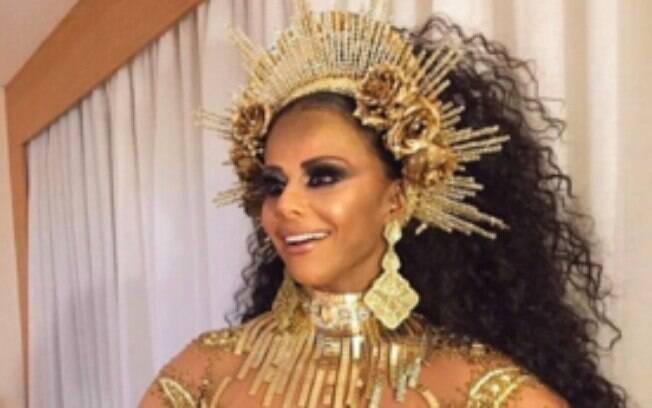 Viviane Araújo é comparada a Beyoncé nas redes sociais