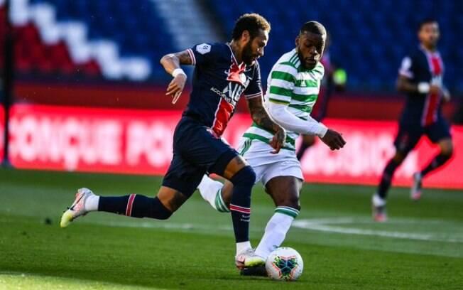 Neymar%2C PSG x Celtic