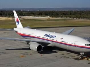 Na foto, o Boeing B777-200, semelhante à aeronave que desapareceu entre a Malásia e a China