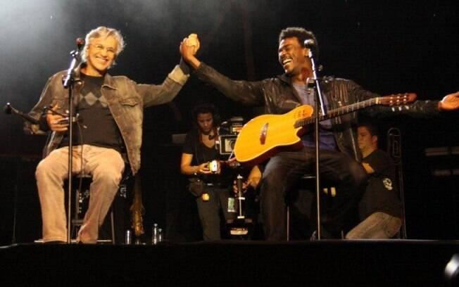 Seu Jorge e Caetano Veloso