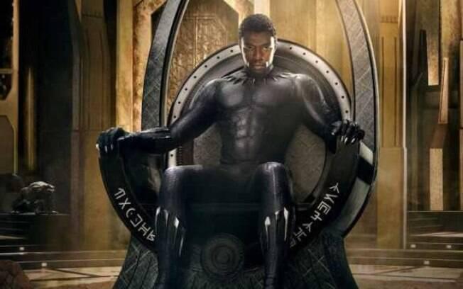 Filme do herói da Marvel fez o nome de Boseman ficar conhecido mundialmente