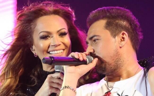 Solange Almeida e Xand Avião