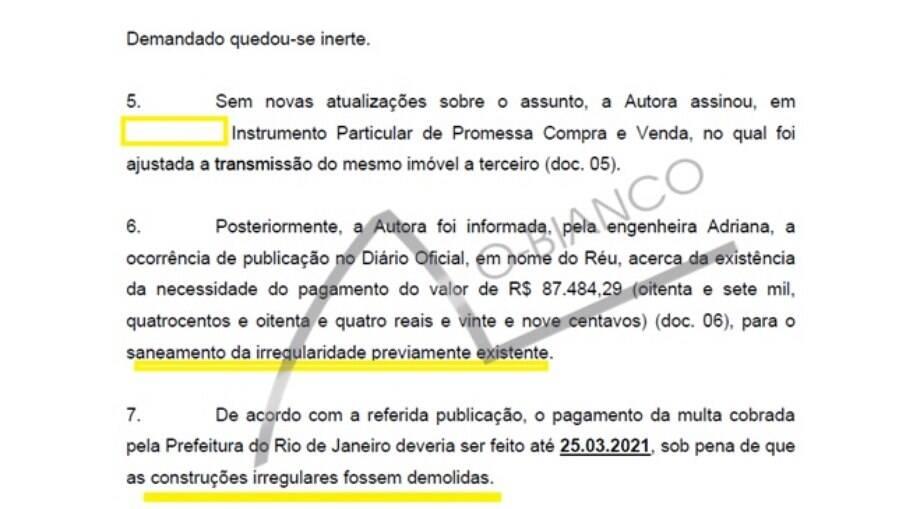 Priscila Fantin precisou pagar quase R$ 100 mil para evitar demolição no imóvel