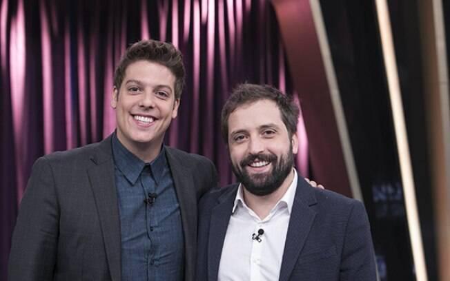 Fábio Porchat e Gregório Duvivier são grandes amigos talentosos