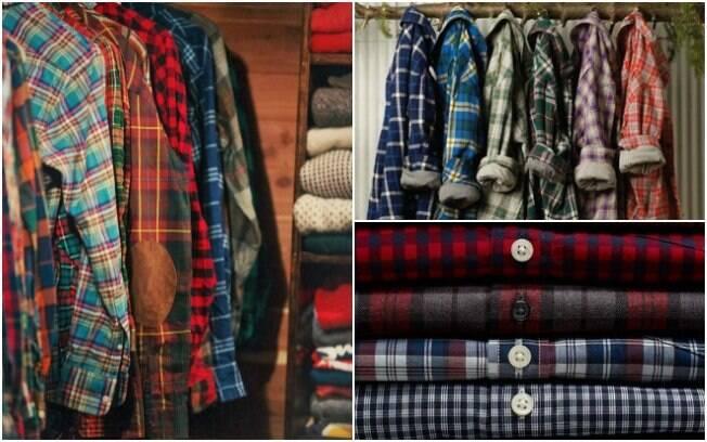 Camisa xadrez é uma peça que versátil que combina com muitos estilos