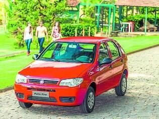 Campeão de vendas.  O Fiat Pálio foi o carro mais vendido em novembro, de acordo com a  Fenabrave