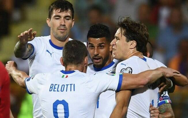 Itália venceu a Armênia fora de casa