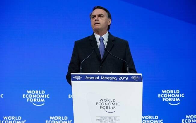 Palavras do Presidente da República, Jair Bolsonaro, durante Sessão Plenária do Fórum Econômico Mundial