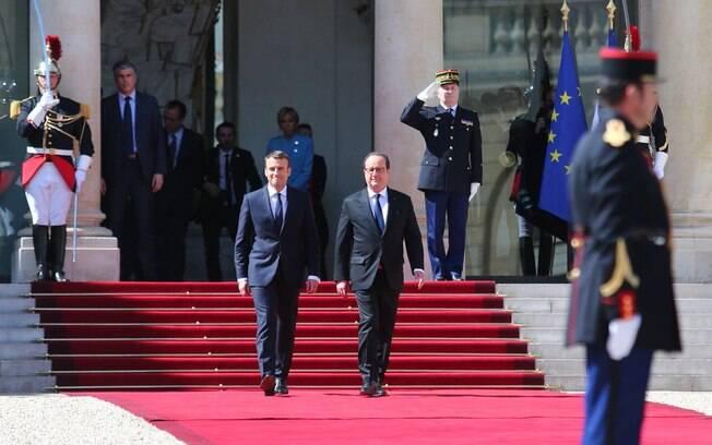 Eleito presidente, Emmanuel Macron toma posse na França neste domingo