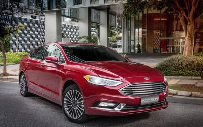 Ford Fusion: sedã ainda é feito no México, que deixará de fabricá-lo. Portanto, suas vendas no Brasil  deverão ser encerradas