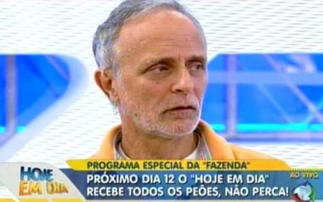 Pai de Joana Machado participou do Hoje em Dia nesta sexta (7)
