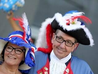 Michel Dunkerque veio ao Brasil com sua esposa após 'participar' de quatro Copas