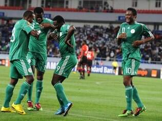 Nigerianos foram eliminados na primeira fase da Copa das Confederações em 2013