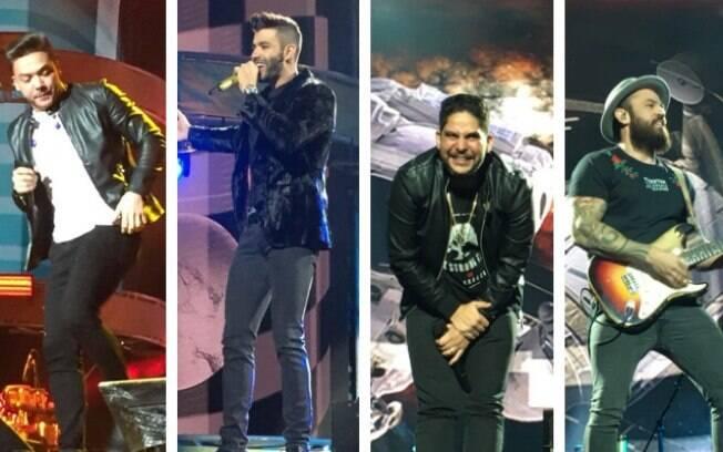 Wesley Safadão, Gusttavo Lima e Jorge & Mateus no VillaMix Festival