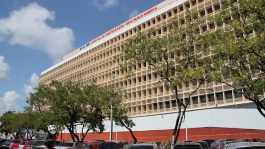 Hospital da Restauração, no Recife