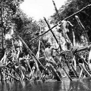 Ritual dura sete meses e é realizado com a saída dos homens para participarem de uma pesca coletiva