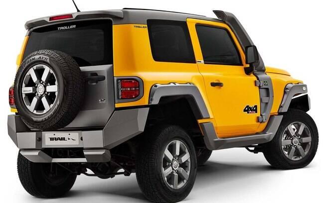 Marca cearense pertence à Ford, que partilha a mecânica do Ford Ranger topo de linha