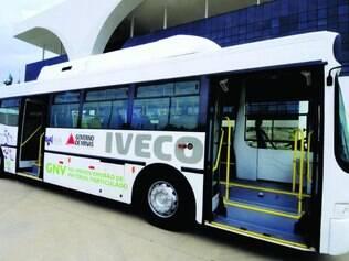 Avaliação. Governo de Minas chegou a analisar um ônibus movido a gás natural veicular, em 2012