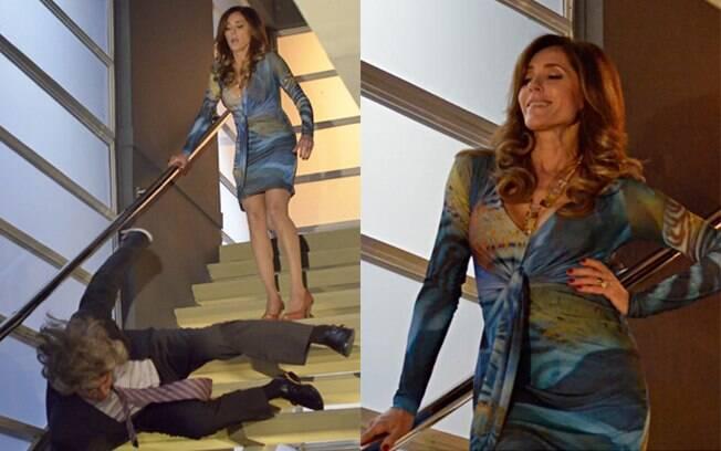 Tereza Cristina matou mafioso, escondeu cadáver no armário e pediu para o segurança se livrar do corpo