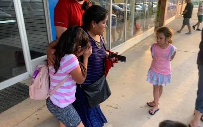 Parte das crianças filhas de imigrantes foram buscadas nas escolas por amigos ou vizinhos dos pais