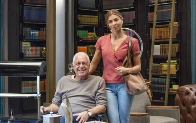 Paloma e Alberto em