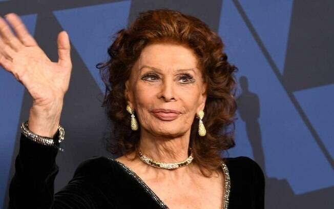 Sophia Loren, outubro de 2019