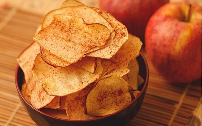 A maçã é uma das frutas da épocas deste mês e pode servir para diversas receitas