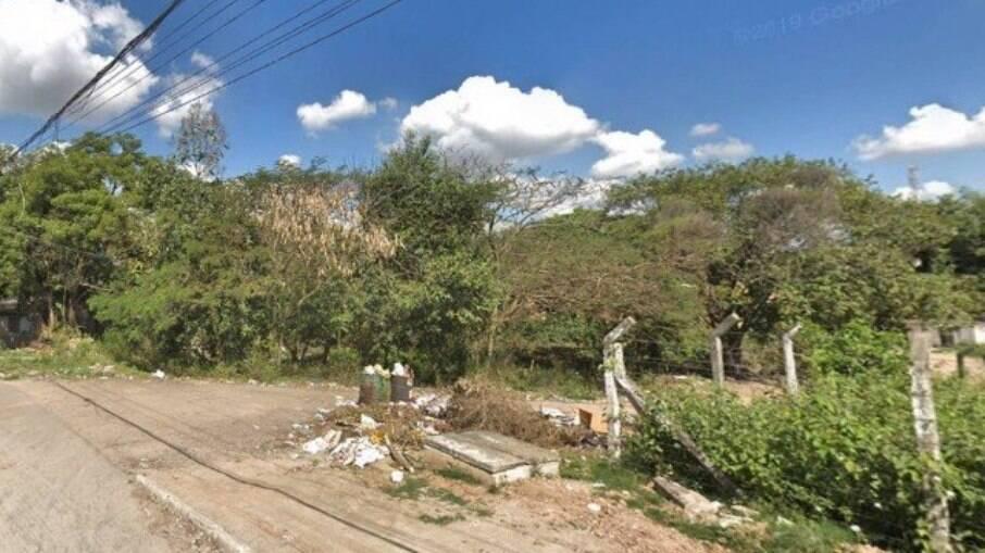 A Rua Manoel Lopes de Oliveira, em Itaboraí, onde o bebê foi encontrado