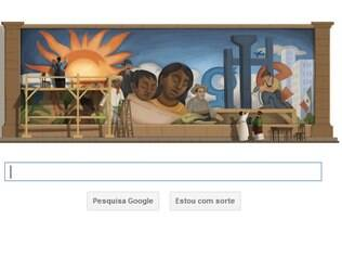Google homenageia Diego Rivera