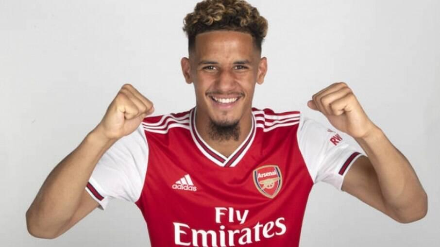 Saliba está emprestado pelo Arsenal ao Nice, da França