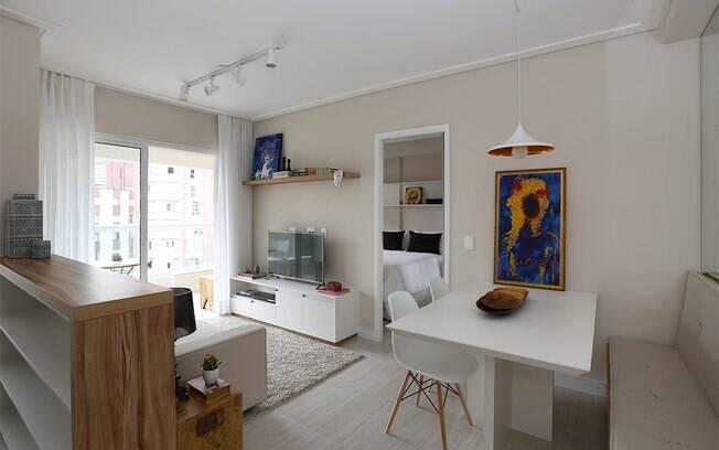 decoracao cozinha flat:Veja nos projetos abaixo como implementar esses conceitos na prática