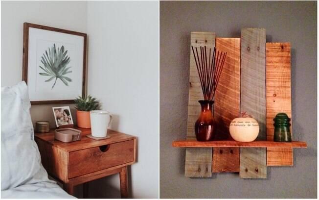 Ao contrário de materiais frios, como o mármore, a madeira confere um visual mais rústico e aconchegante à decoração