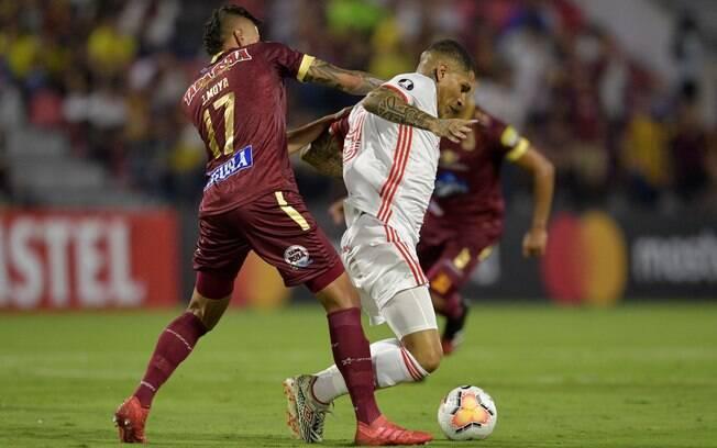 Tolima e Inter empatam em 0 a 0 na Colômbia