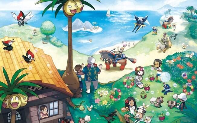 Pokémon Sun e Moon batem recorde de vendas no Reino Unido