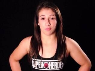 Peso-átomo Herica Riburcio foi indicada ao lado de estrelas da modalidade, como Ronda Rousey