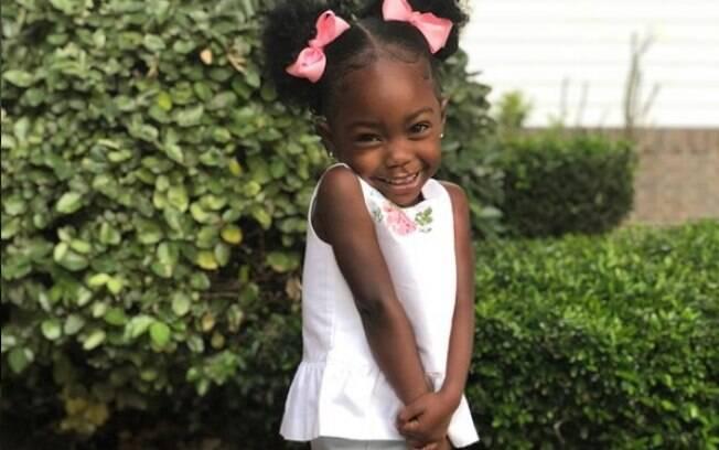 Jade tem apenas três anos, mas já é dona de um Instagram cheio de seguidores, que ficaram emocionados com o vídeo