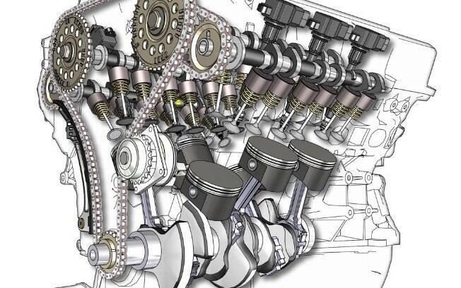 O motor trabalha em altas velocidades e altas temperaturas. Não queira ver o que ele faz em caso de um calço hidráulico