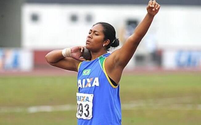 Geisa Arcanjo - campeã mundial juvenil de  arremesso de peso testou positivo para  hidroclorotiazida, um diurético, e ficou quase um  ano suspensa