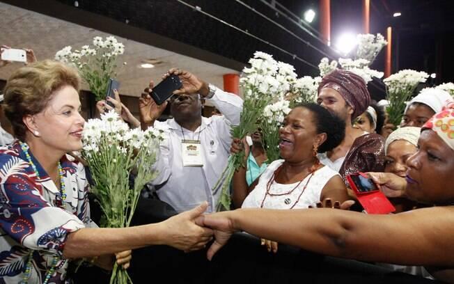 Presidente Dilma Rousseff esteve em Teresina (PI) para discutir com movimentos sociais convidados a proposição de políticas públicas