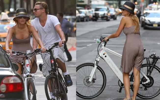Leonardo DiCaprio e Blake Lively em Manhattan