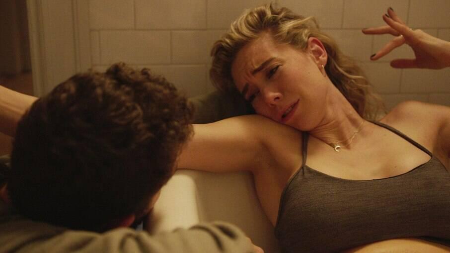 A atriz Vanessa Kirby interpretou por 25 minutos uma mulher em trabalho de parto em 'Pieces of a Woman'