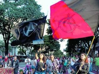 """Belo Horizonte. O movimento """"Não Vai Ter Copa"""" promoveu protestos, em janeiro, na capital mineira"""