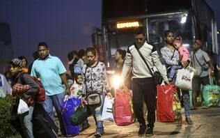 Venezuelanos deixam Roraima e seguem para dez cidades no país